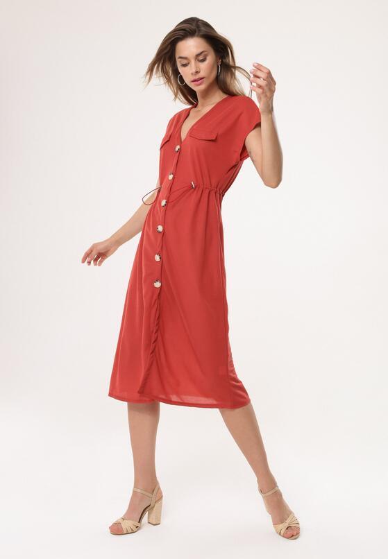 Czerwona Sukienka Occlusive