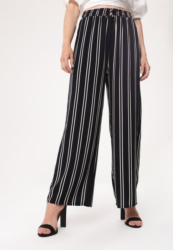 Granatowe Spodnie Rests