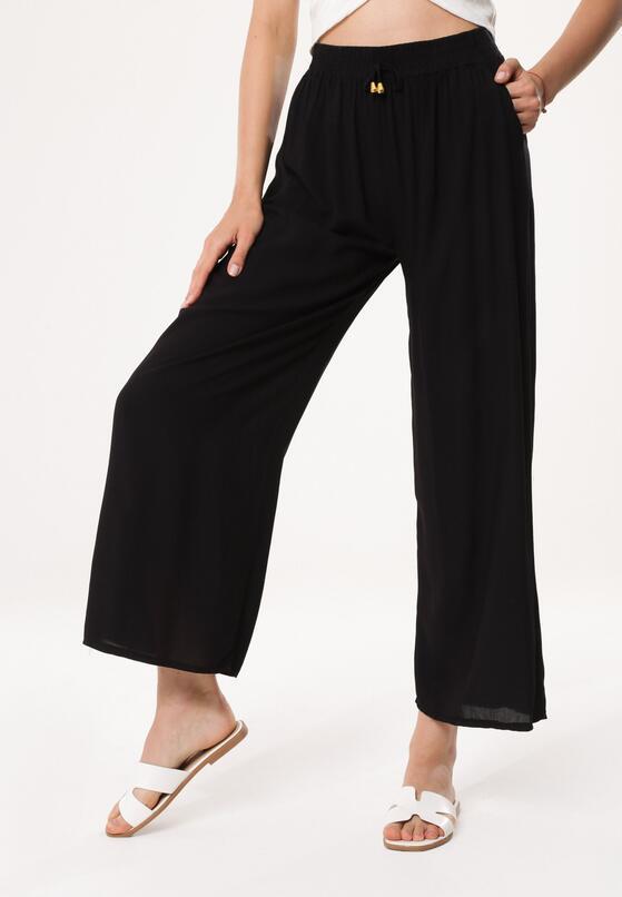 Czarne Spodnie Preventive