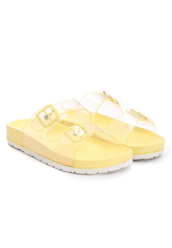 Żółte Klapki Sweet-Thing