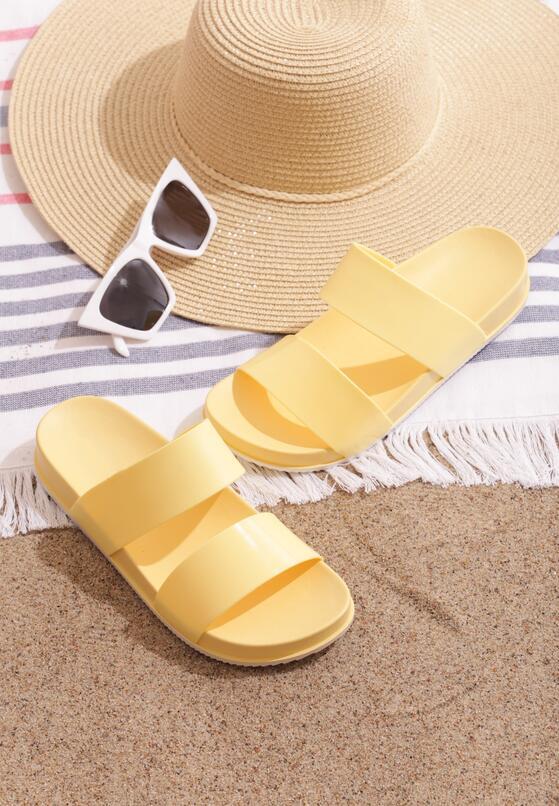 Żółte Klapki Splendid Idea