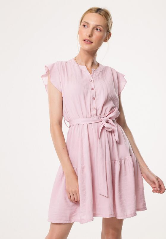 Różowa Sukienka Very Willing