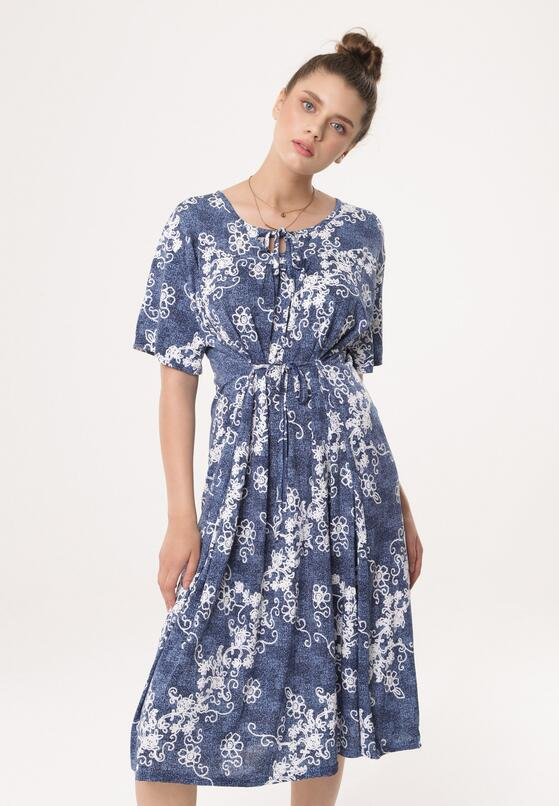Niebieska Sukienka Resort