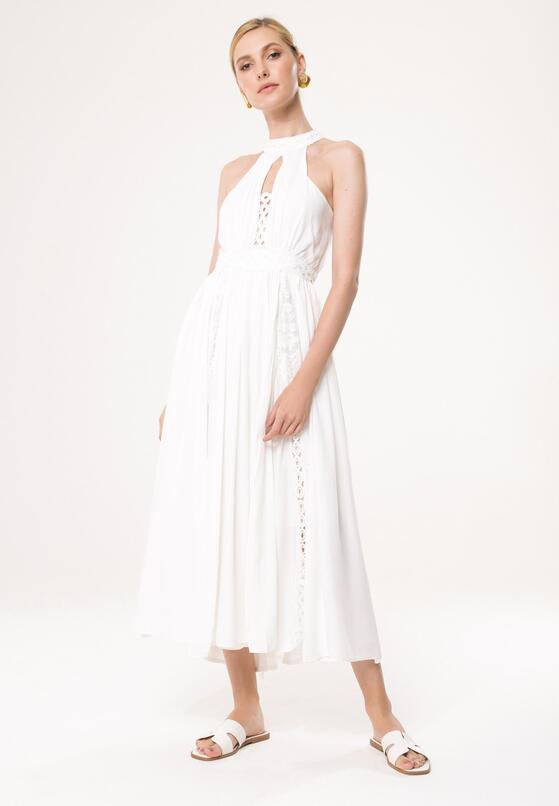 Biała Sukienka Excuse