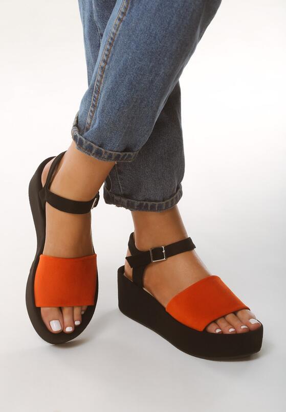 Pomarańczowe Sandały Retailer