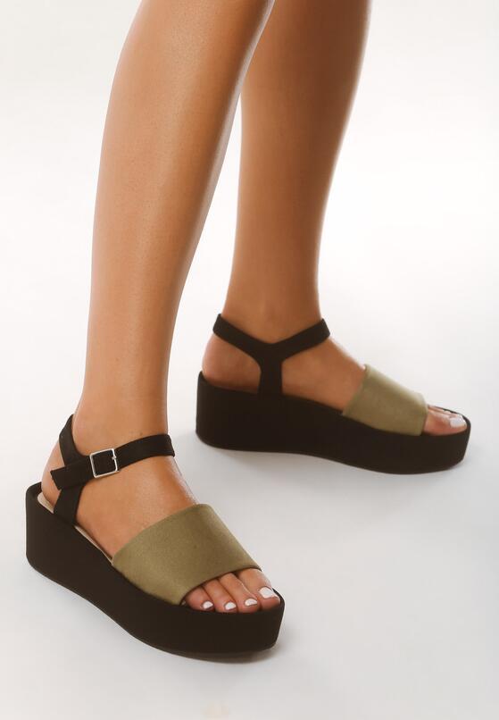 Zielone Sandały Retailer