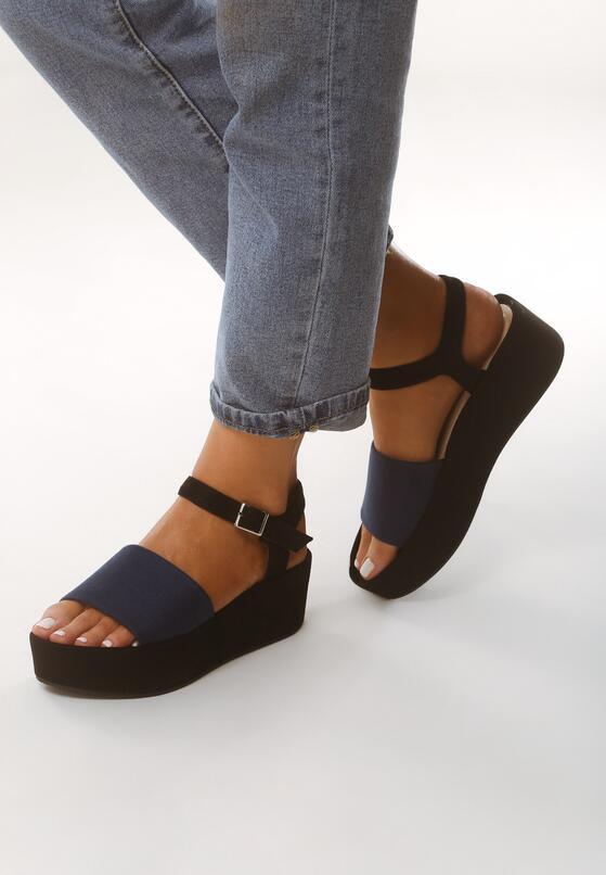 Ciemnoniebieskie Sandały Retailer