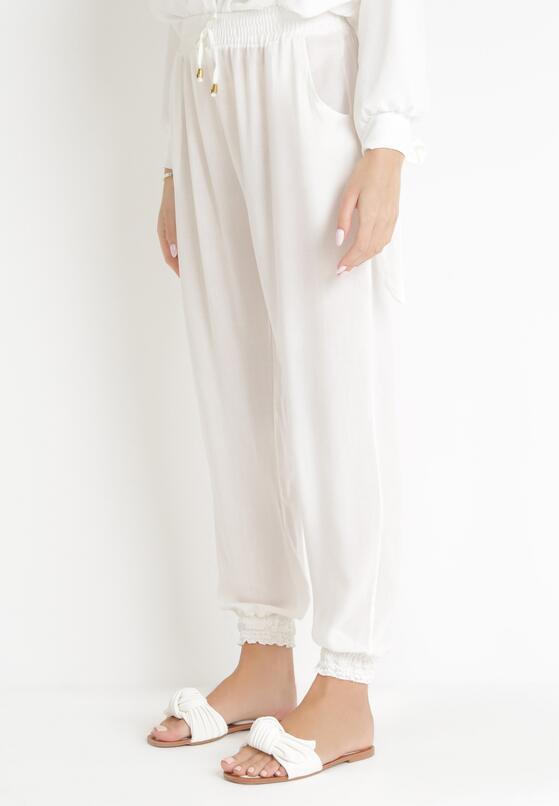Białe Spodnie Lid