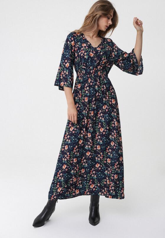 Granatowa Sukienka Unheard Of