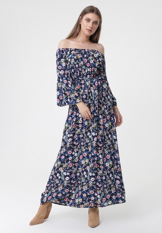 Granatowa Sukienka Something Else