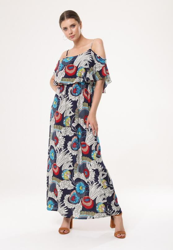 Granatowa Sukienka Plight