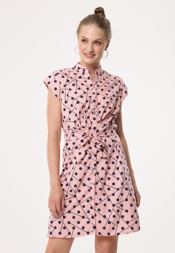 Różowa Sukienka Euphonious