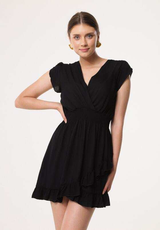 Czarna Sukienka Effloresce