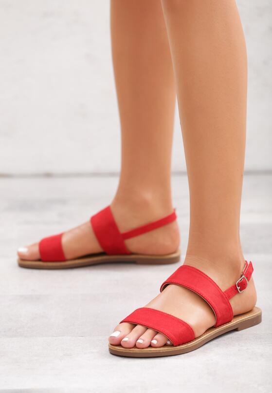 Czerwone Sandały Gale