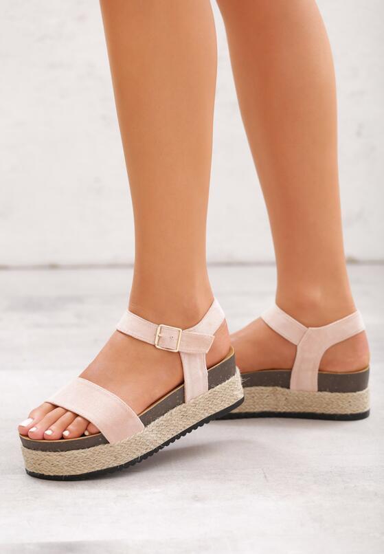 Różowe Sandały Forty