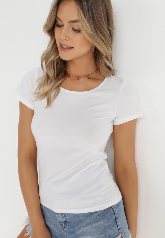 Biały T-shirt Eight