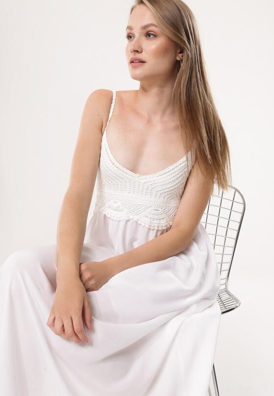 Biała Sukienka Relies