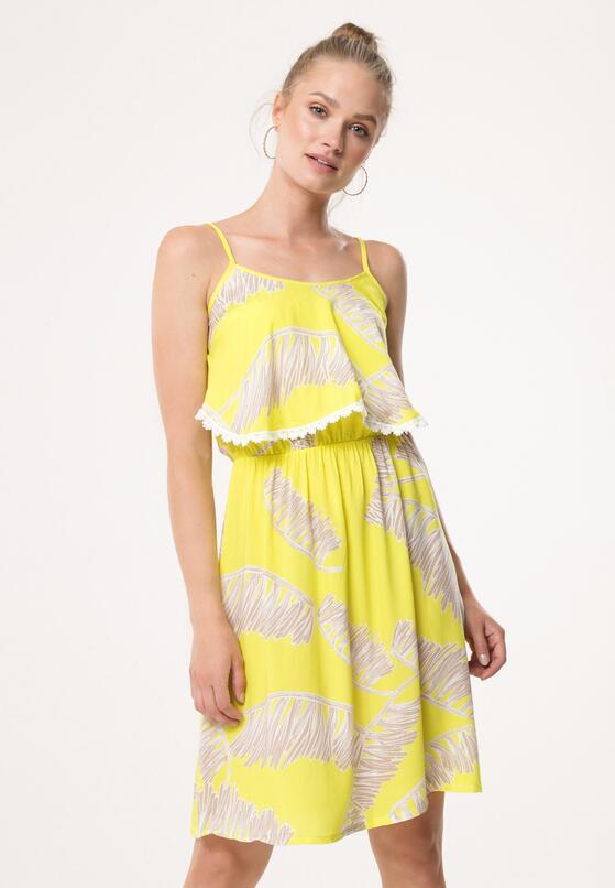 Żółta Sukienka Rising Feeling