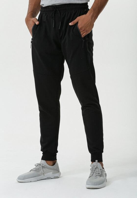 Czarne Spodnie Entry