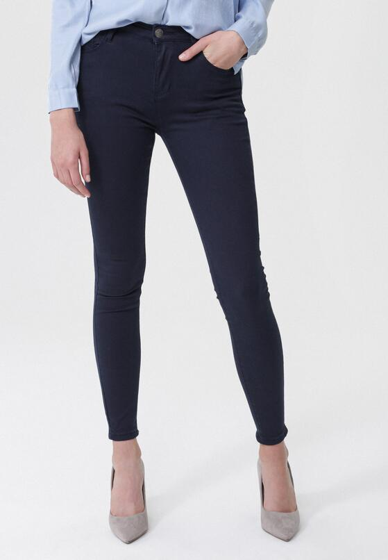 Granatowe Spodnie Indicativ