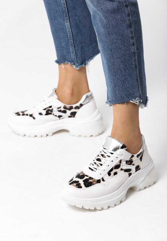 Białe Sneakersy Aconitum