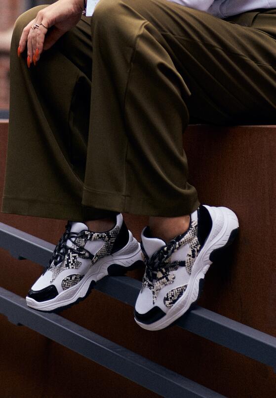 Białe Sneakersy Arum