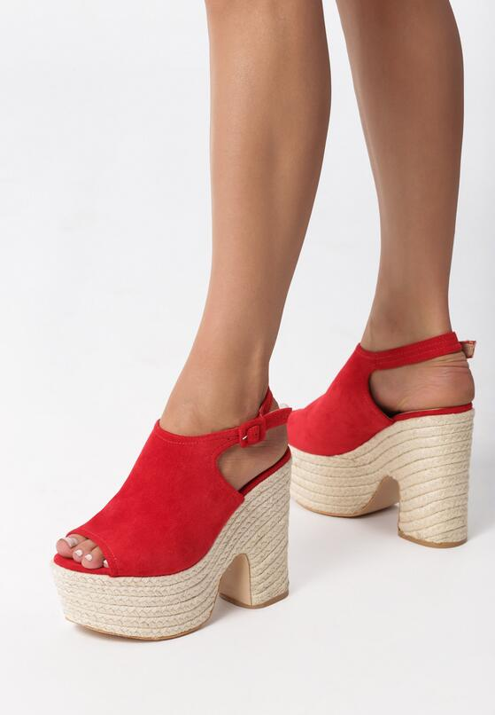 Czerwone Sandały Catherine