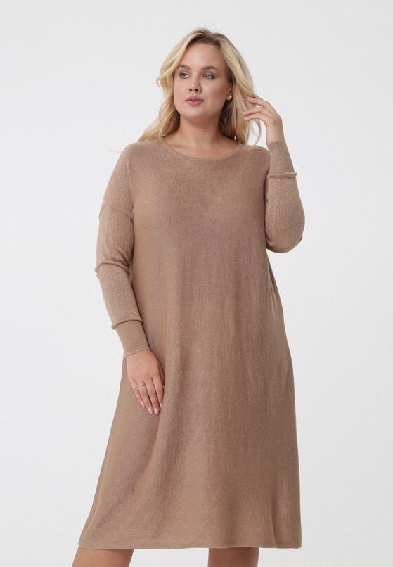 Camelowa Sukienka Cali