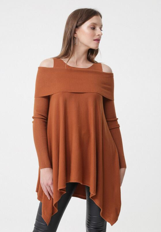 Camelowy Sweter Noa