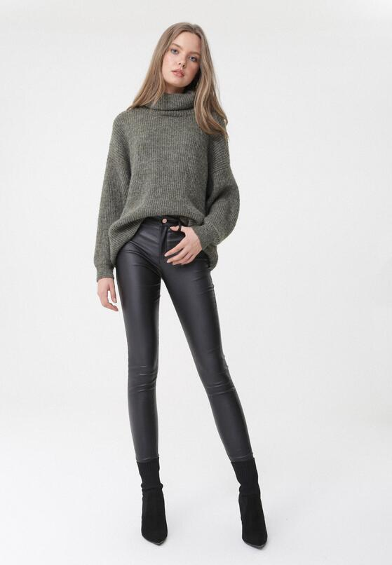 Czarne Spodnie Lainey