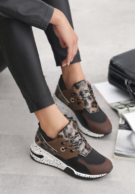 Khaki Sneakersy Kora