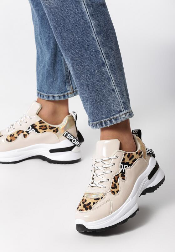 Panterkowe Sneakersy Henley
