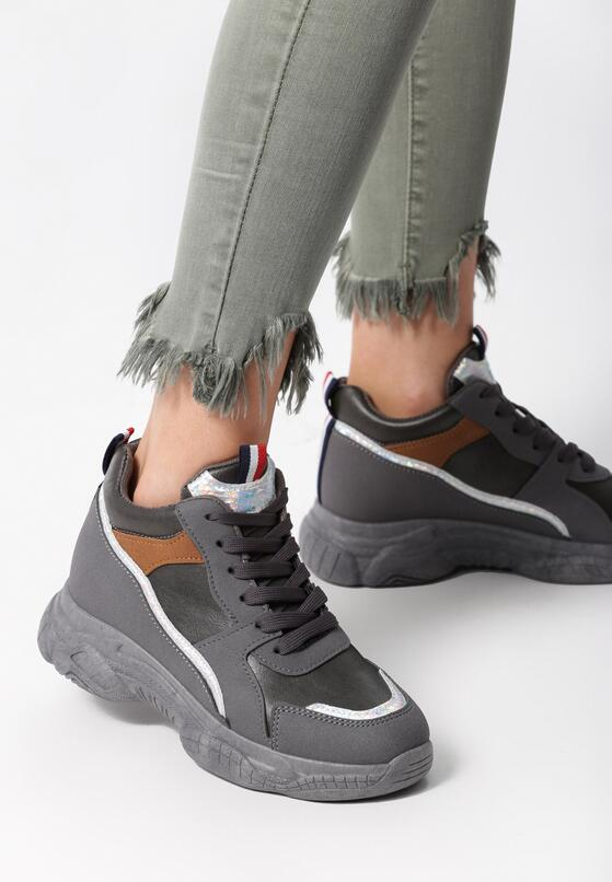 Szare Sneakersy Baylee