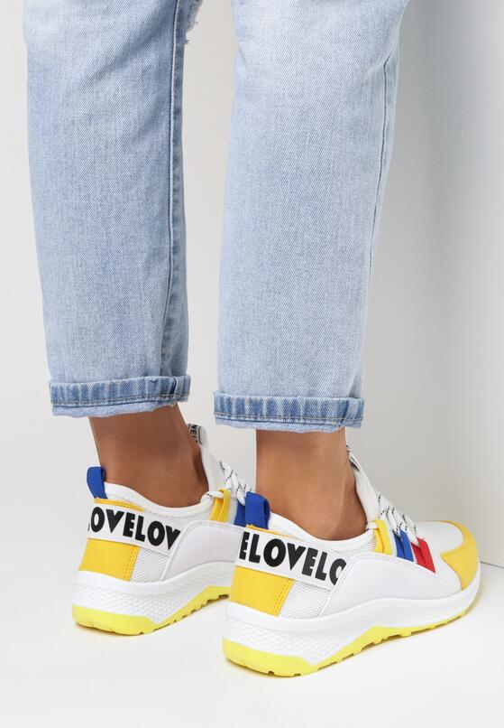 Żółte Sneakersy  Priscilla