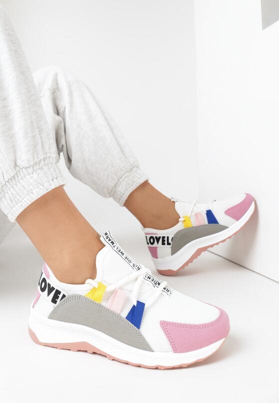 Różowe Sneakersy Priscilla