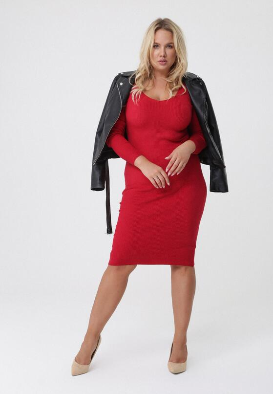 Czerwona Sukienka Roselyn