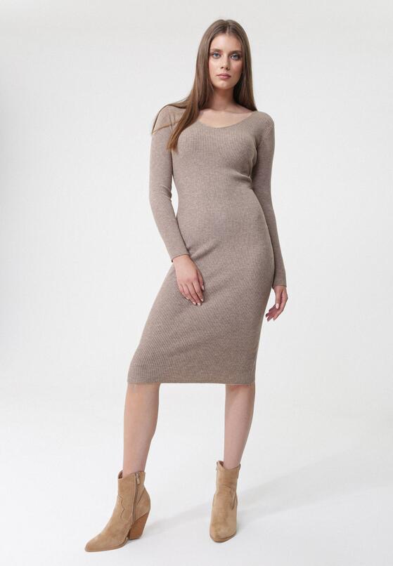 Khaki Sukienka Roselyn