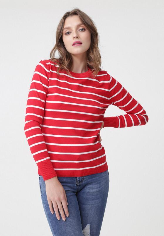Czerwony Sweter Meghan