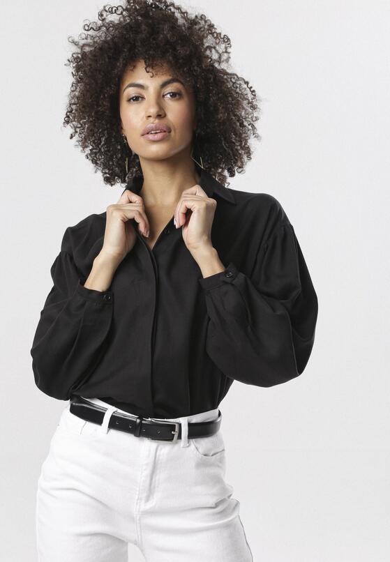 Czarna Koszula Aubrielle