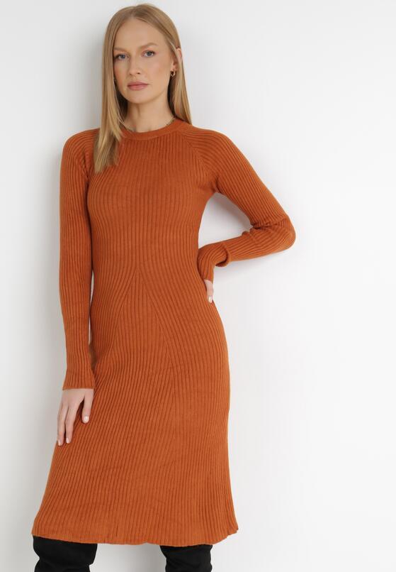 Camelowa Sukienka Deborah