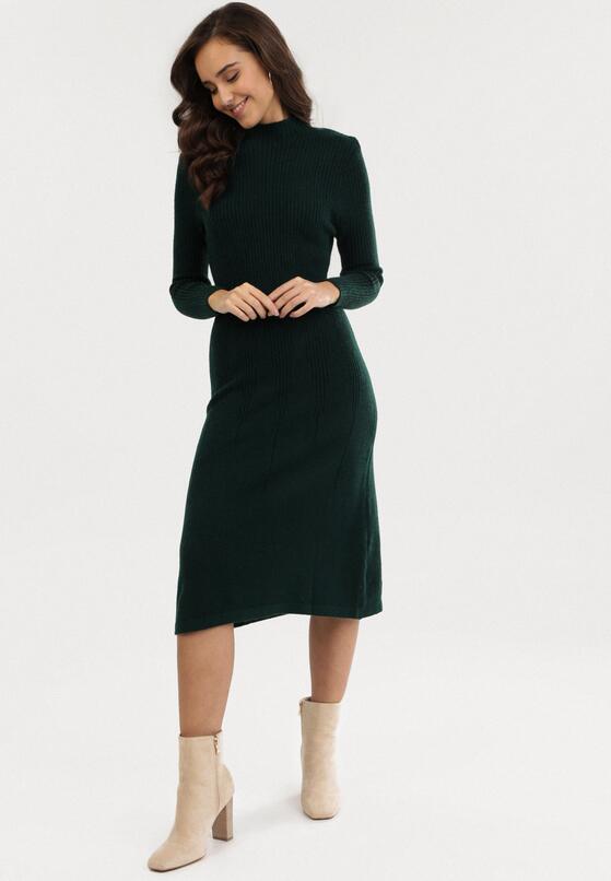 Ciemnozielona Sukienka Laylah