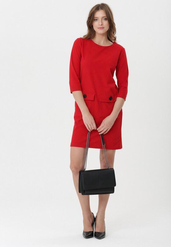 Czerwona Sukienka Fremont