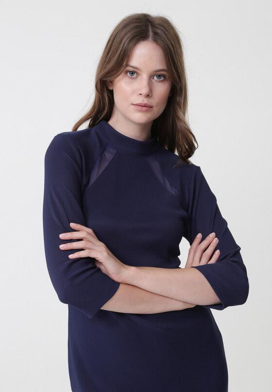 Granatowa Sukienka Rhiannon