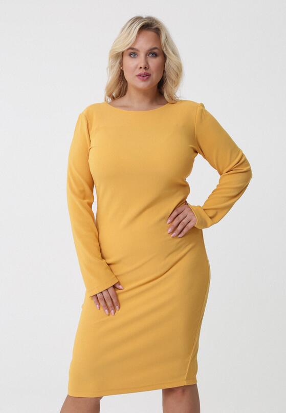 Żółta Sukienka Noreen