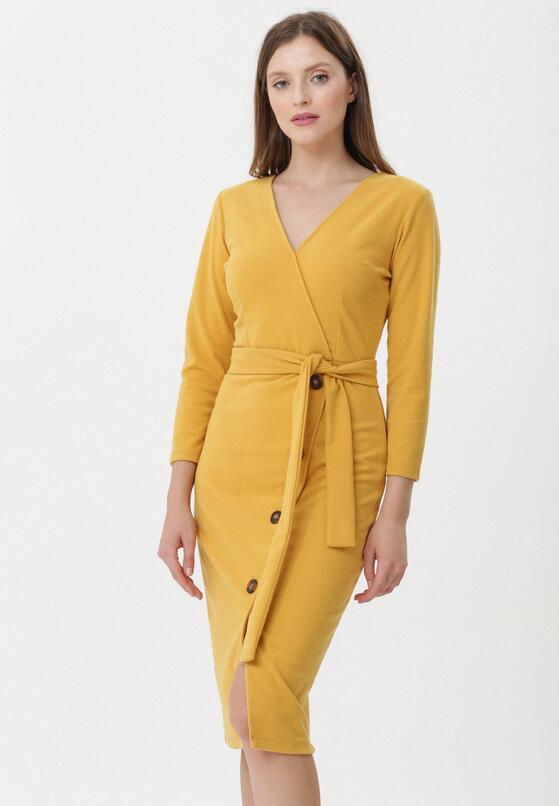 Żółta Sukienka Ripley
