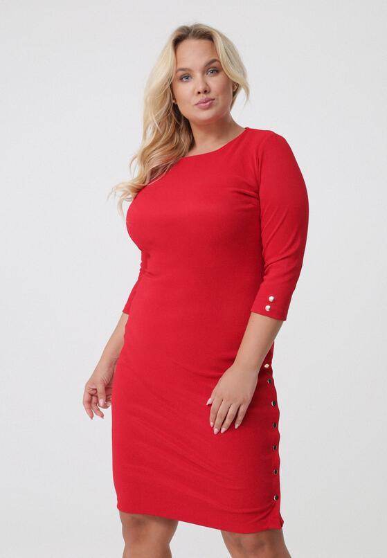 Czerwona Sukienka Ricki