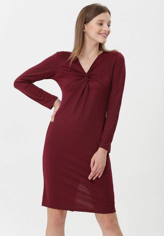 Bordowa Sukienka Magali