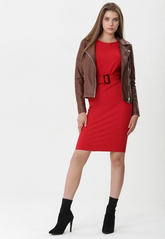 Czerwona Sukienka Gwen