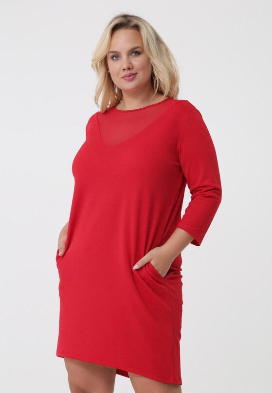 Czerwona Sukienka Janice