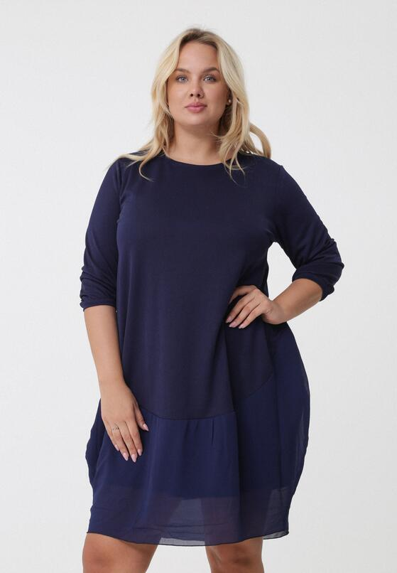 Ciemnoniebieska Sukienka Leanne
